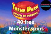 Theme Park Tickets of Fortune spins