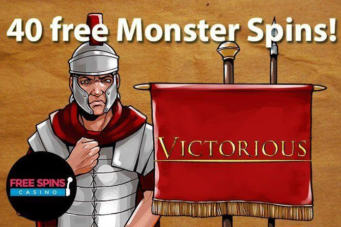 40 victorious free spins at free spins casino