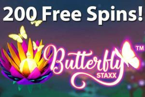 200 butterfly staxx free spins