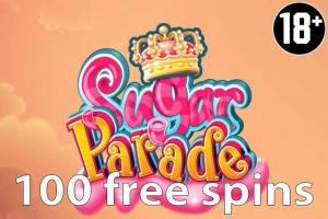 100 Sugar Parade free spins