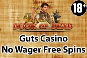 Guts Casino No Wager free spins