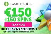 Casinoluck freespins no deposit