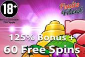 free spins fruits 4 real casino