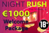 Nightrush casinon bonus
