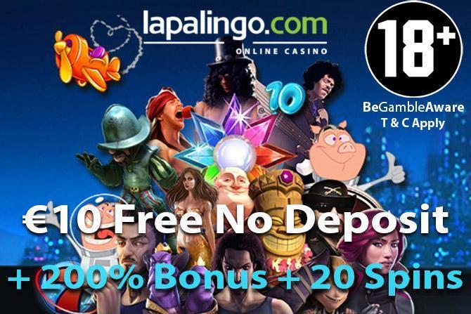 10 Lapalingo No Deposit Bonus 2020 Free Spins Casino
