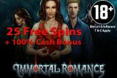 free spins Immortal Romance