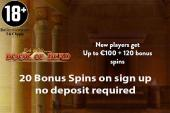20 free spins dunder casino