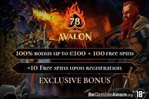 Avalon 78 Casino No Deposit Bonus Free Spins Casino