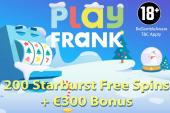 playfrank casino free spins